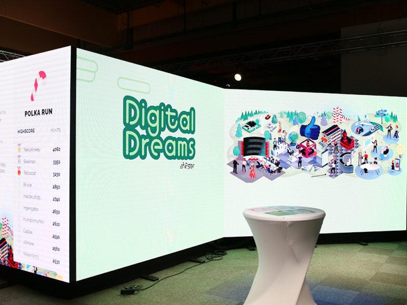 Transform to AAA rivstartades med konceptet Digital Dreams under Dreamhack<