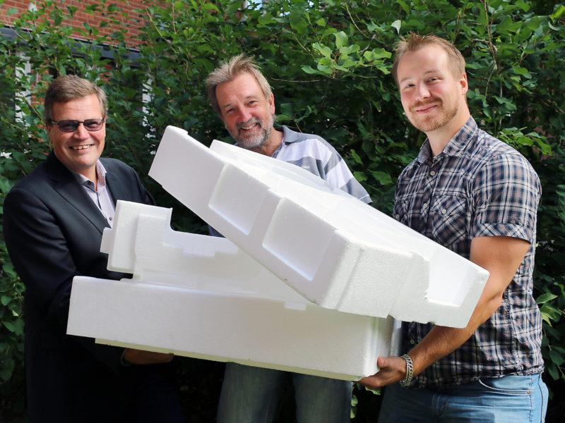 ITON får Vinnova-stöd för teknikutveckling inom återvinning av frigolit<
