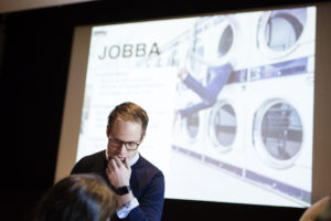 Konferensen välfärdsteknologi i äldreomsorgen. Plats: tekniska museet.