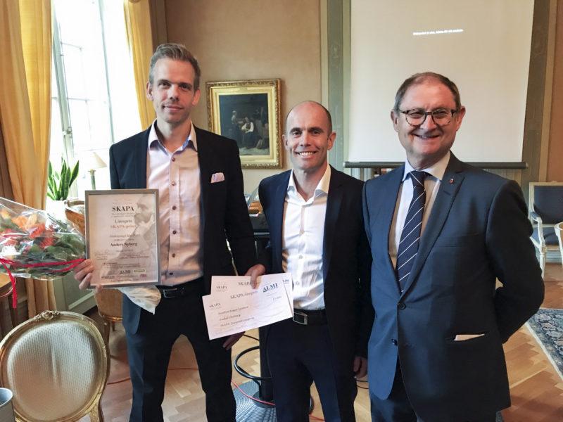 CIND:s Anders Nyberg utsedd till länets bästa innovatör<
