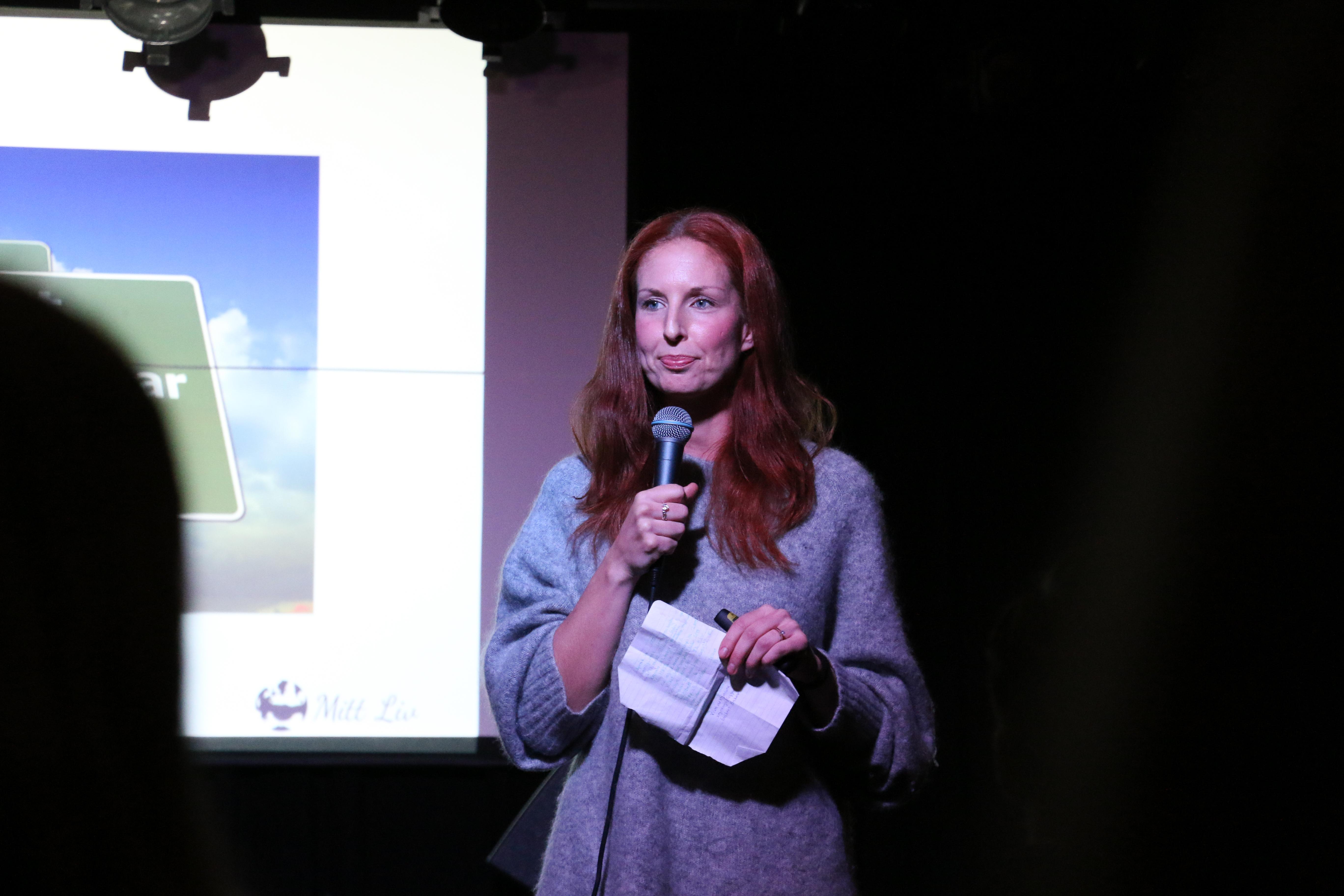 Sofia Appelgren, grundare av Mitt Liv, talar om hur mångfald kan bidra till innovation, utveckling och affärsnytta för företag och organisationer.