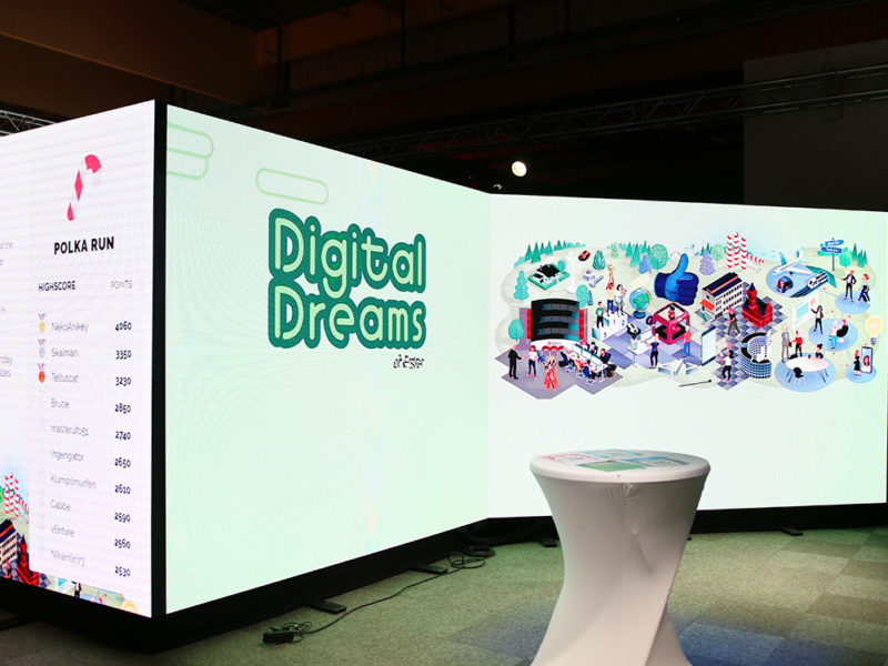 Transform to AAA rivstartades med konceptet Digital Dreams under Dreamhack<