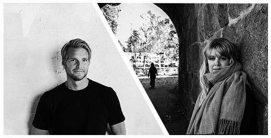 Johan Lundell och Frida Moisto inspirationsfrukost