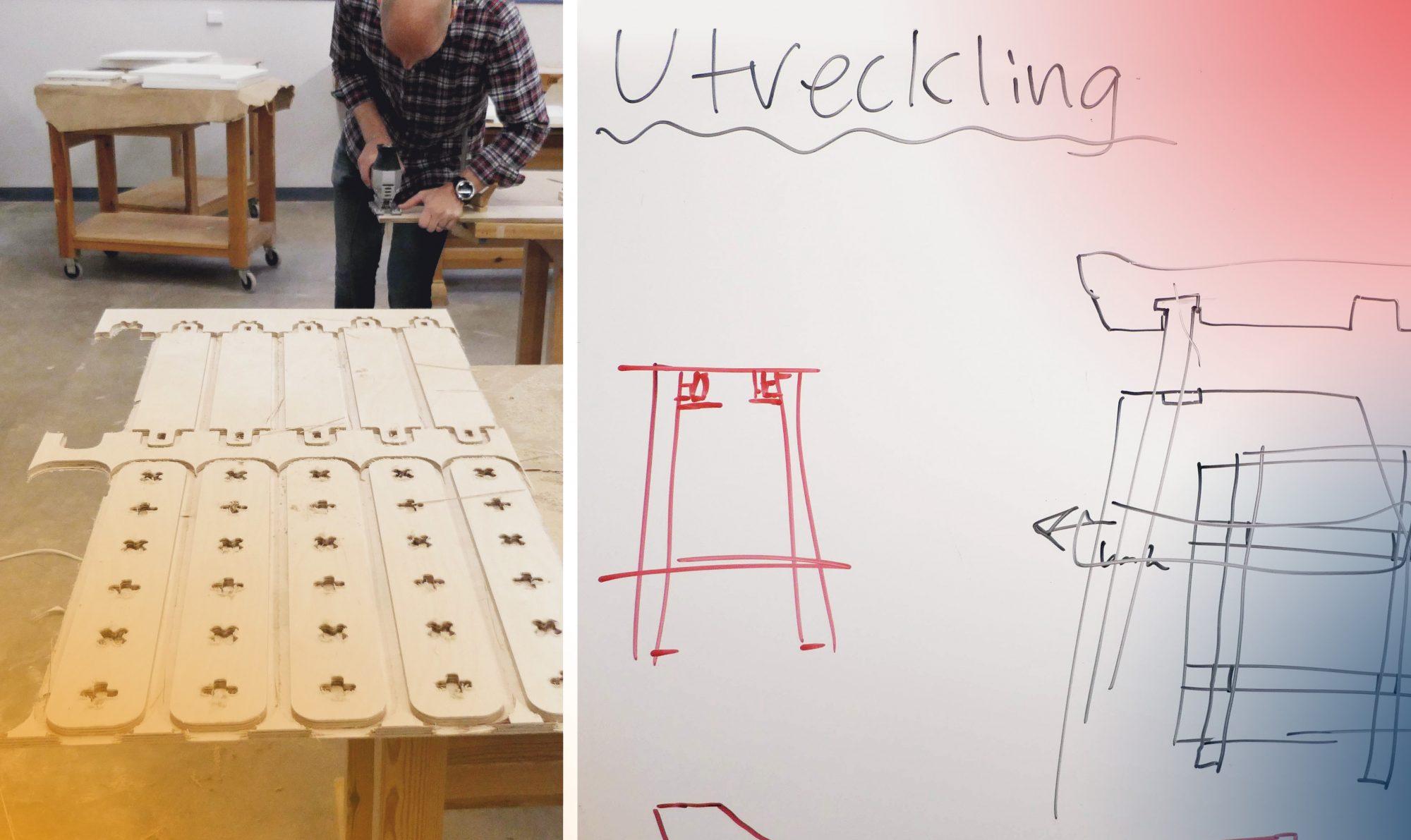 Möbeltillverkare arbetar med en ny modulbaserad produkt