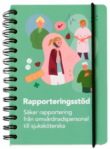 """Evig Utvecklings bok """"Rapporteringsstöd"""""""