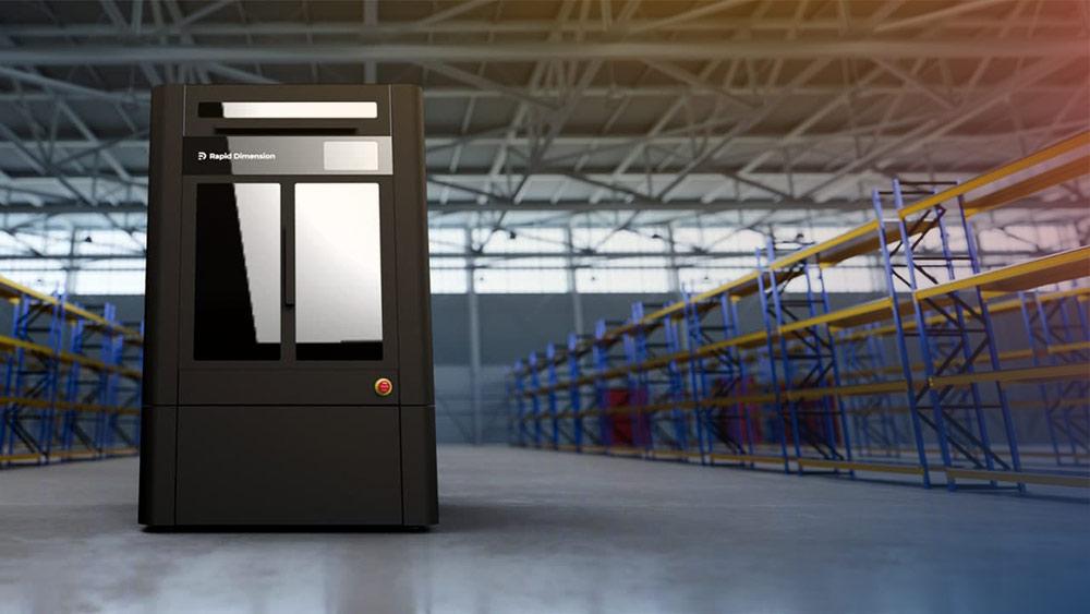 3D-bild av Rapid Dimensions nya tjänst