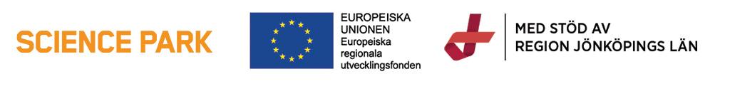 Logorad Science Park, EU och Region Jönköpings län