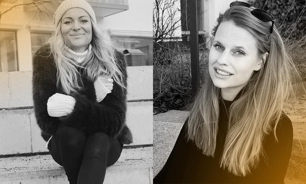 OICAN-grundarna Sarah och Sofie Hellström ler mot kameran.